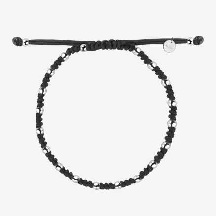 Men's bracelet Magic Shamballa, 14K gold