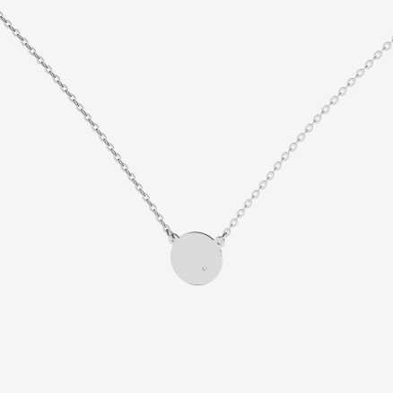Diamond necklace Moonlight, 14K gold