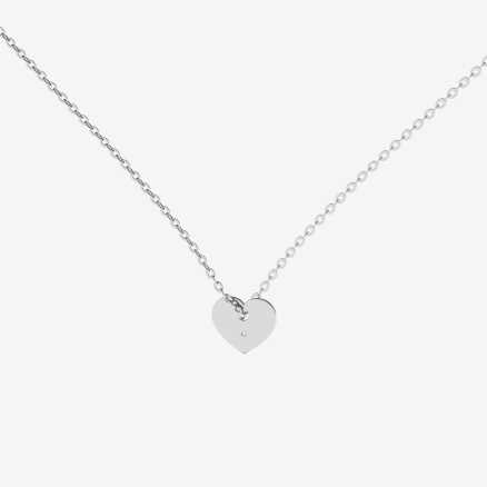 Diamond necklace Love Symbol, 14K gold