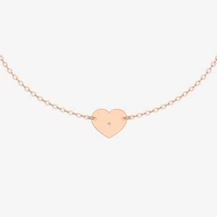 Brilliant bracelet My Heart, 14kt zlato