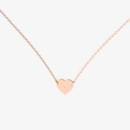 Diamond necklace My Love, 14K gold