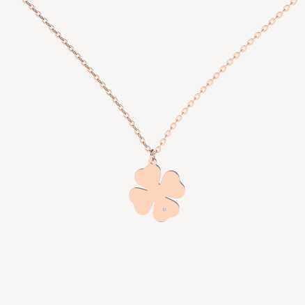 Brilliant necklace Get Lucky, 14kt zlato